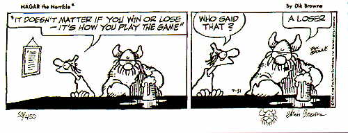 Hagar the Horrible - Play Game